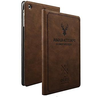 Design bag Backcase smart cover dark brown for NEW Apple iPad 9.7 2017 case new