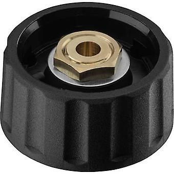 Ritel 66 28 46 3 Control knob + continuity Black (Ø x H) 28 mm x 13.8 mm 1 pc(s)