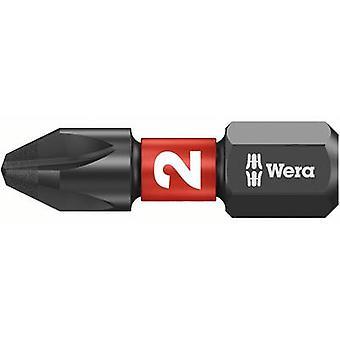 Wera 851/1 IMP DC 05057616001 פיליפס bit PH 2 כלי פלדה DLC מצופה, סגסוגת D 6.3 1 pc(s)