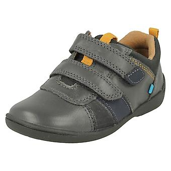 Boys Startrite Casual Hook And Loop Shoes Grip