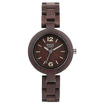 WeWood Mimosa Chocolate 70205500000 Watch