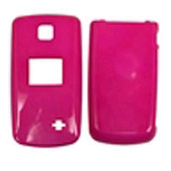 Coquille dure cellulaire illimité Snap-On cas pour LG AX300 - Hot Pink
