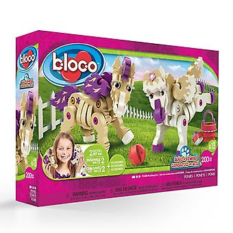 Bloco Toys Build-a-Friend Ponys Kit (191 Stück)