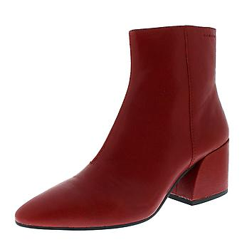 Womens Vagabond Olivia Leather Red Pointed Toe Fashion Winter Ankle Boots