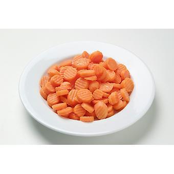 Greens Frozen Fluted Carrots