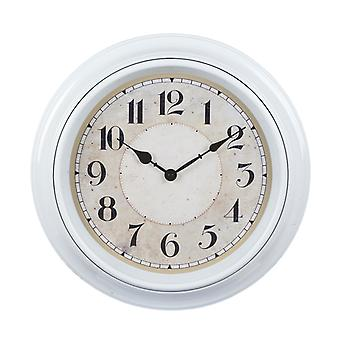 Watch out wall white d40 wall clock