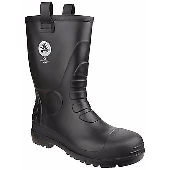 Amblers Safety Unisex FS90 Waterproof Pull On Safety Rigger Boot