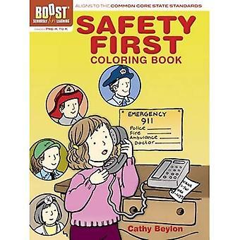 Spinta sicurezza primo libro da colorare