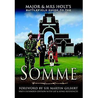 Suuria ja Mrs.Holt s Battlefield opas Somme (Battleground Europe)