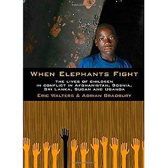 Als de olifanten vechten: Het leven van kinderen in Conflict in Afghanistan, Bosnië, Sri Lanka, Soedan en Oeganda