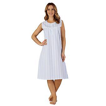 Slenderella ND3220 Women's Woven Night Gown Loungewear Nightdress