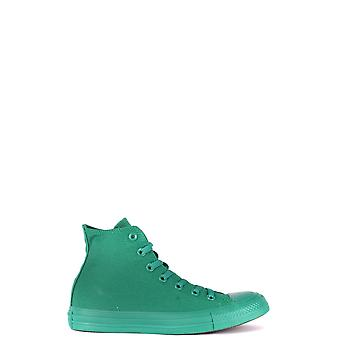 Converse Ezbc119035 Women's Green Fabric Hi Top Sneakers
