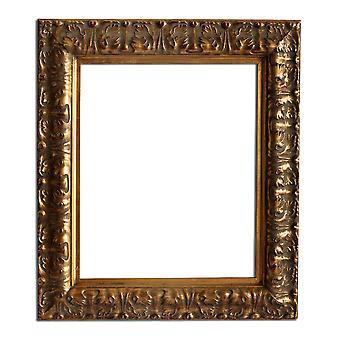 25x30 cm oder 10x12 Zoll, gold Rahmen