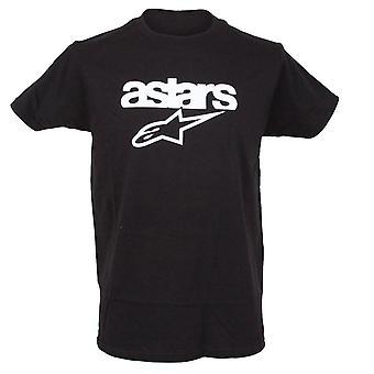 Alpinestars Mens T-shirt ~ patrimoniu Blaze negru