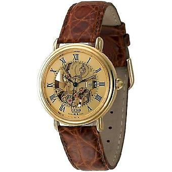 Zeno-watch mens watch nameless skeleton limited edition ES95-PGG-i6