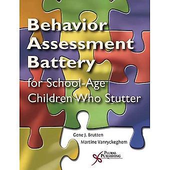 The Behavior Assessment Battery Speech Situation Checklist: Speech Disruption: Section II