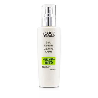 Scout Cosmetics Daily Revitalise Cleansing Creme With Lemon Myrtle Papaya & Coconut - 150ml/5.1oz