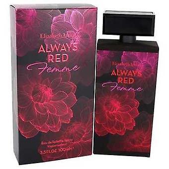 Altid rød femme af Elizabeth Arden Eau de toilette spray 3,3 oz (kvinder) V728-542228