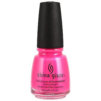 Kina glasyr nail polish-Neon rosa spänning 14 ml (70291)