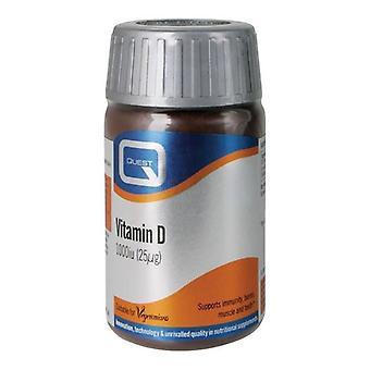 Quest Vitamins Vitamin D 1000iu Tabs 180 (601005)