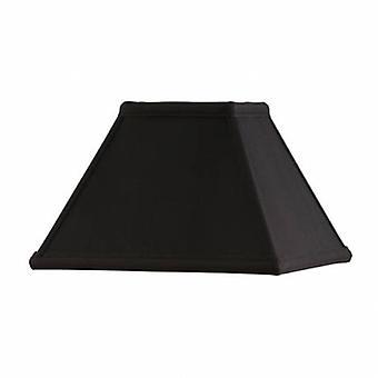 Nove polegadas preta sombra de seda do falso