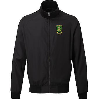 Royal Artillery 29 Commando regiment-lisensiert britiske hæren brodert Harrington Jacket
