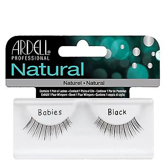 Ardell Natural Babies Black Easy To Apply Full False Eye Lashes