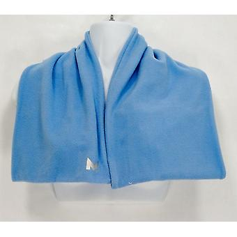Mission Radiant Active Women's Fleece Knit Basic Blue Scarf F12398