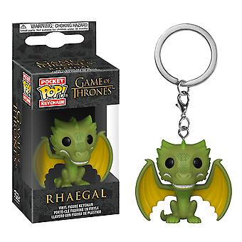 Game of Thrones Rhaegal Pocket Pop! Keychain