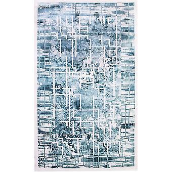 Pierre Cardin Design matto akryyli valkoinen/sininen