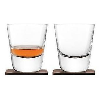 LSA whisky Arran glas 250 ml claro y práctico de Costa del nogal x2 *