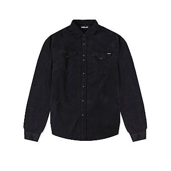 Replay Jeans mens replay snoer shirt Blackboard