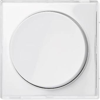 Merten Cover Dimmer M-Creativ Glassy, Polar white MEG5250-3500