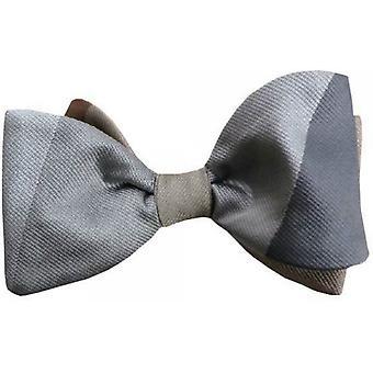 Gene Meyer Idlewild Bow Tie - gris/brun