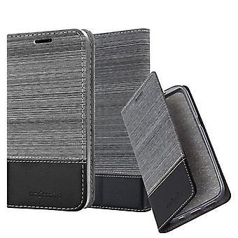Cadorabo Hülle für Huawei P8 MAX Case Cover - Handyhülle mit Magnetverschluss, Standfunktion und Kartenfach – Case Cover Schutzhülle Etui Tasche Book Klapp Style