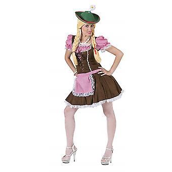 Dirndl Sexy Tyrolean Women's Costume Mini Bavaria Oktoberfest Madl Costume Women's Theme Party Wiesn Carnival
