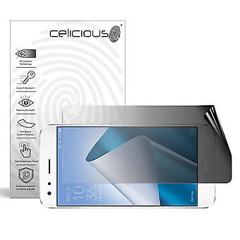 Celicious Privacy 2-Way Landscape Anti-Spy Filter Screen Protector Film Compatible with Asus Zenfone 4 Pro (ZS551KL)