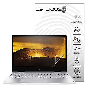 Celicious Impact Anti-Shock Shatterproof Screen Protector Film Compatible with HP Envy x360 15 BP100NA