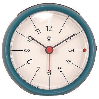 nXt - Alarm clock - Ø 9.5 x 3.8 cm - Blue - 'Otto'