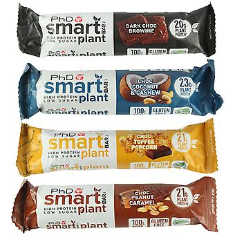 PhD Nutrition Smart Bar Plant Mixed Flavours Individual Bar X 6