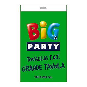 Ασβέστης πράσινο μη υφασμένα κλωστοϋφαντουργικά tablecover 160 x 260cm διακόσμηση κόμμα