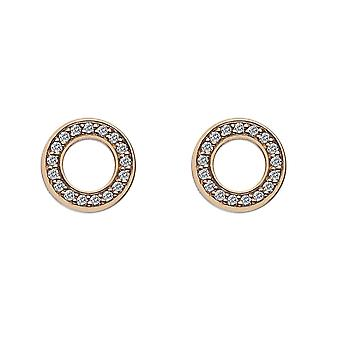 Boucles d'oreilles Emozioni Purity Gold Plated EE010