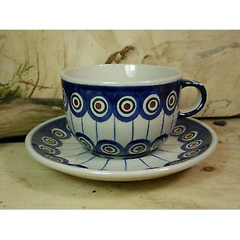 Cup and saucer for tea o. coffee, 200 ml volume, tradition 13 BSN 21948