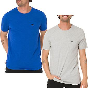 Animal Mens Young Marl Casual Short Sleeve Crew Collo Cotone T-Shirt Top