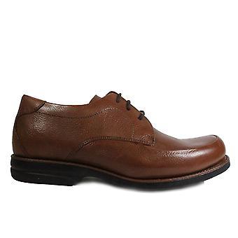 التشريحية الجديدة ريسيفي تان الجلود Mens الدانتيل حتى الأحذية