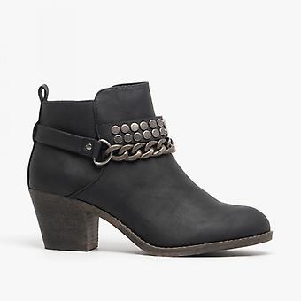 Rocket Dog Shelinda Ladies Ankle Boots Black
