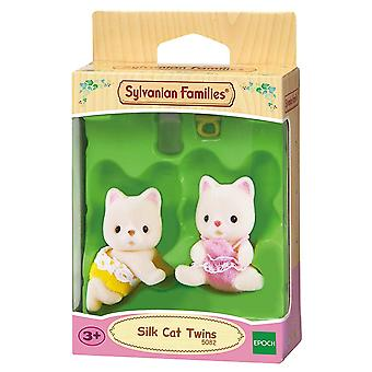 Sylvanian Families-Silk kat tweeling speelgoed