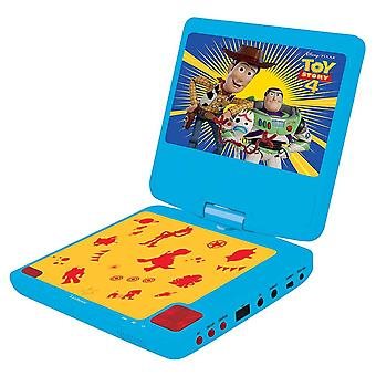 Lexibook Disney Toy Story 4 Buzz & Forky Portable DVD Player Blue/Yellow DVDP6TS