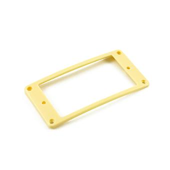 WD Music Humbucker Mounting Ring Low Cream Arched