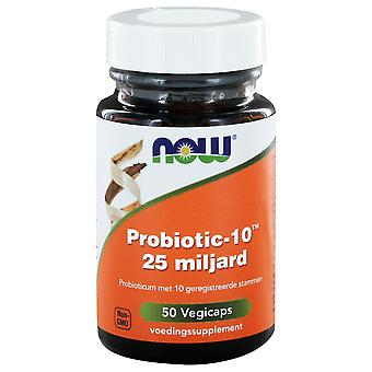 Probiotic-10™ 25 miljard (50 vegicaps) - NOW Foods